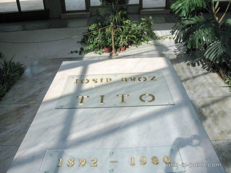 Tito's grave