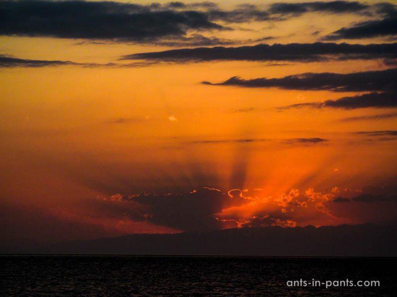 Issyk-Kul sunset
