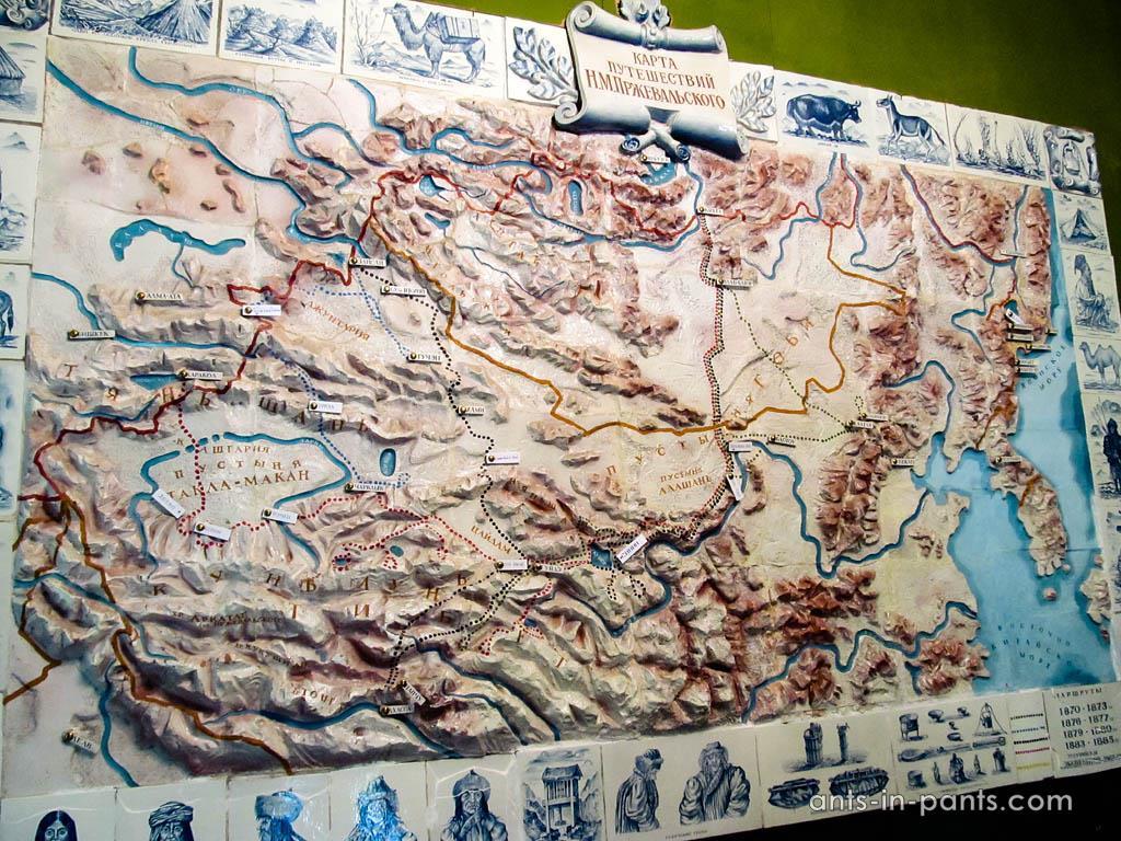 Przhevalsky routes