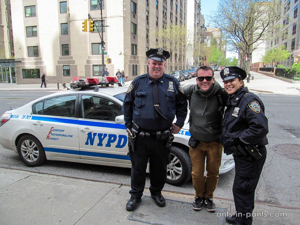 Police in NY