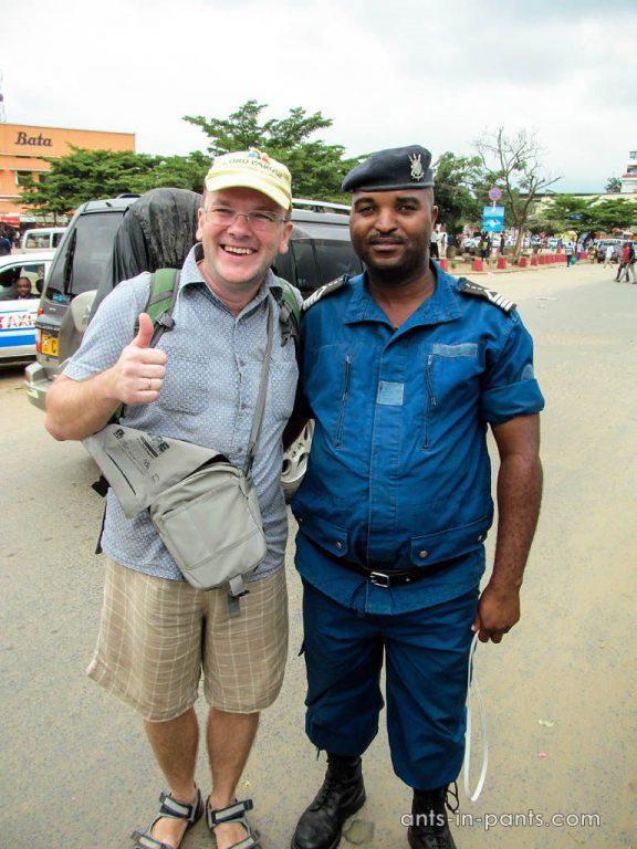 полиция в Бурунди