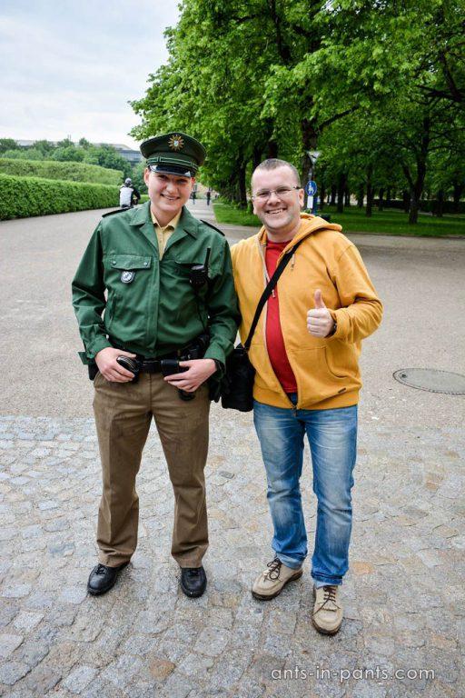 Полицейские в Мюнхене