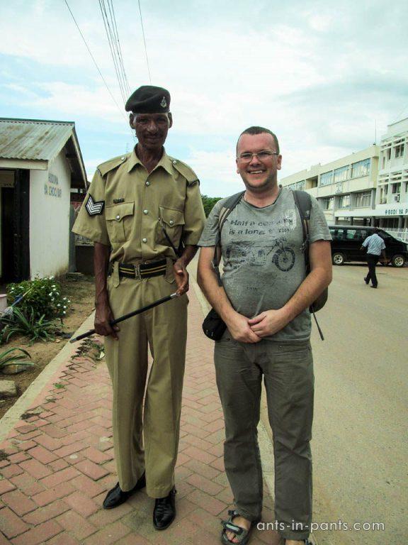 Полиция Танзании