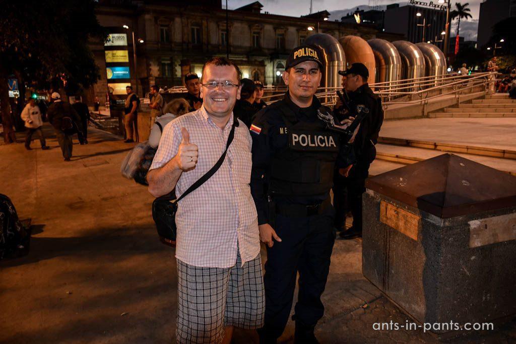 Полиция в Коста Рики