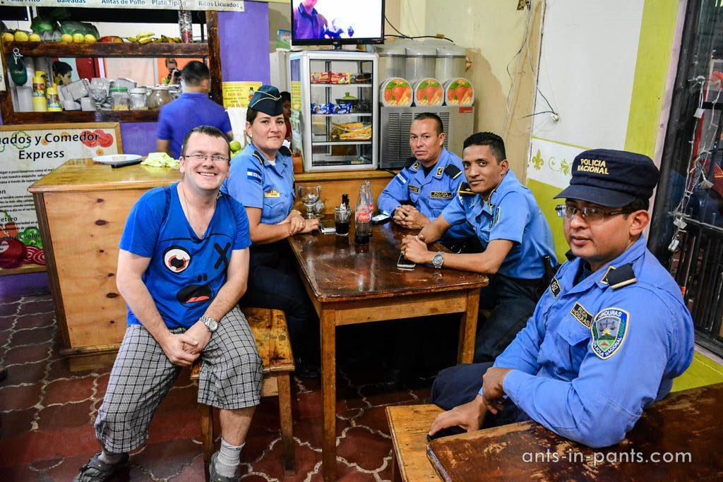 Полиция в Гондурасе