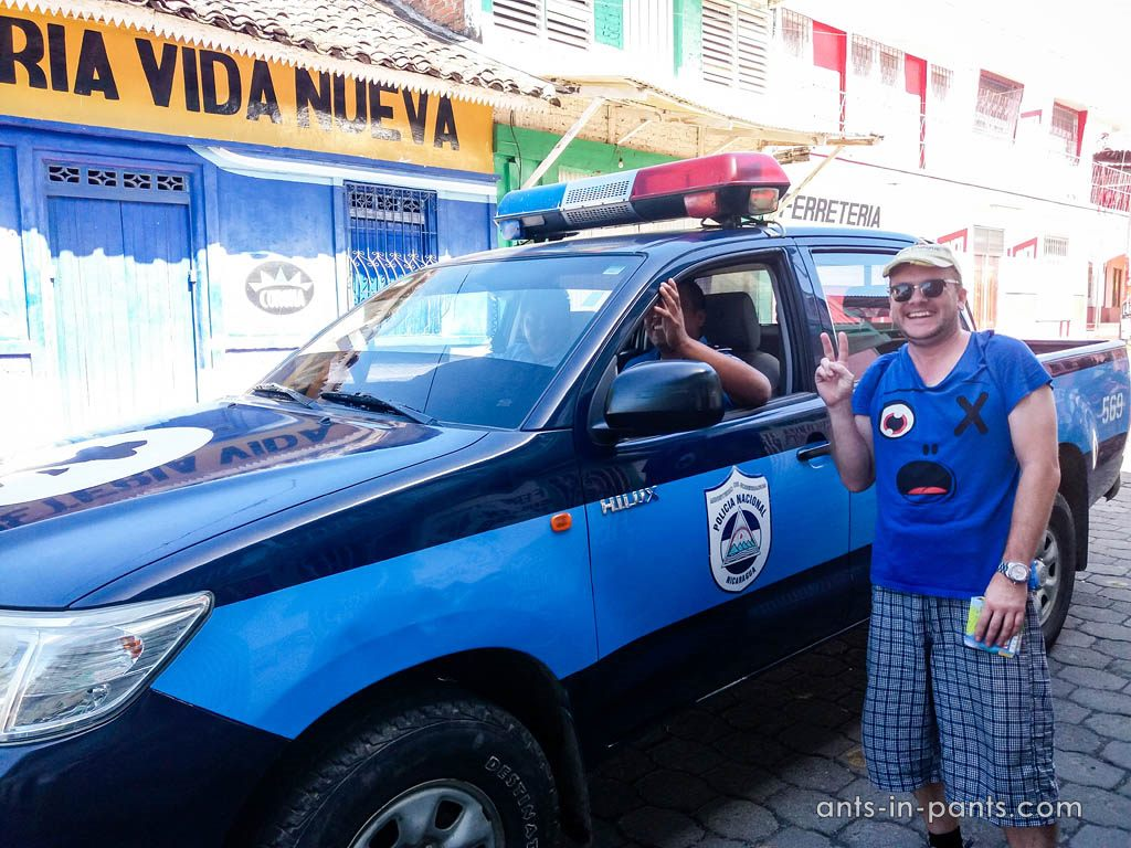 Police in Nicaragua