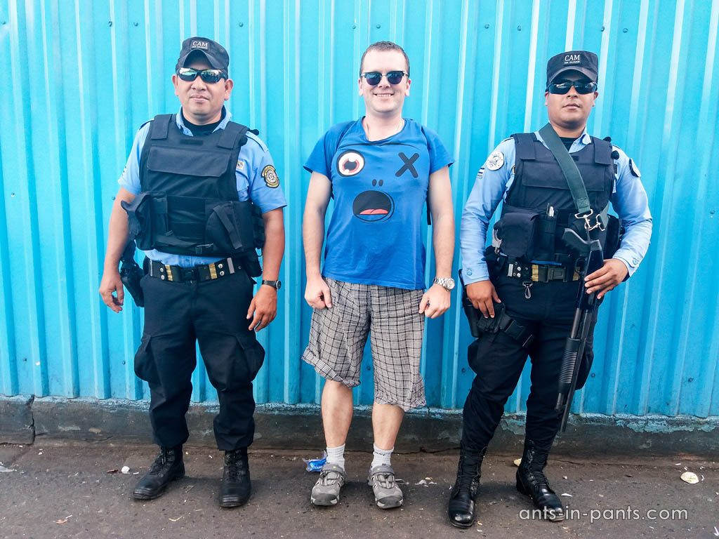 Police in Salvador
