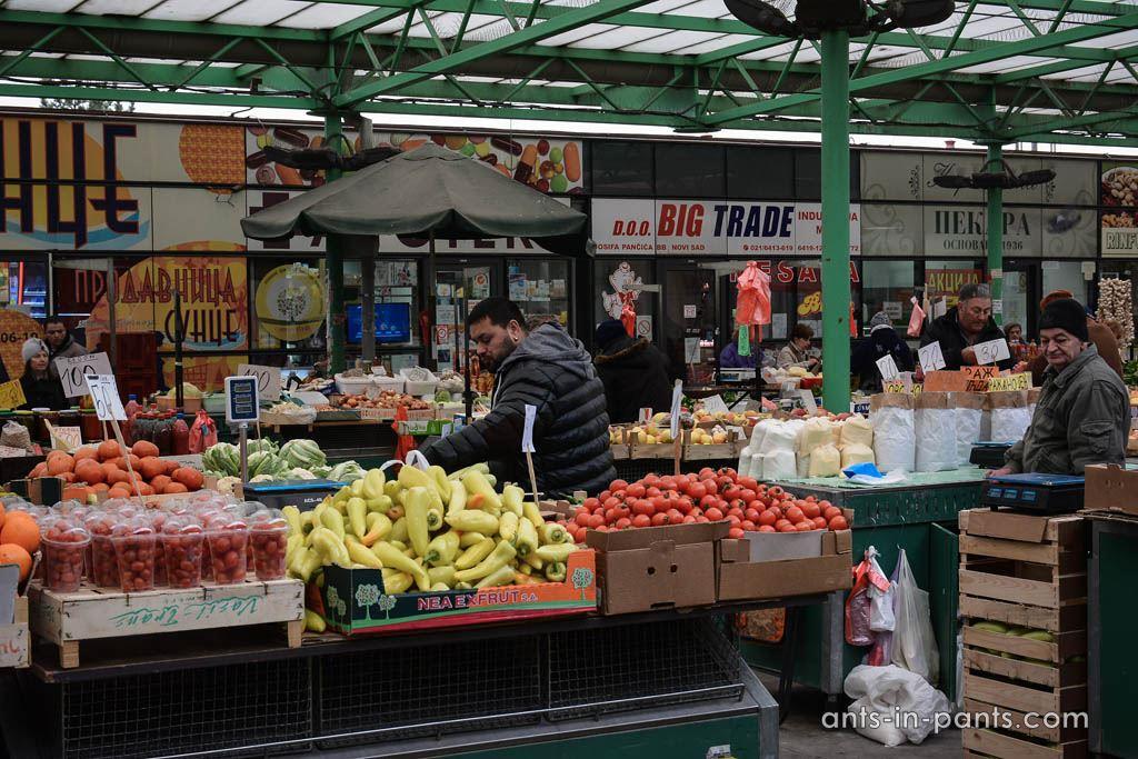 Zeleny Venac market