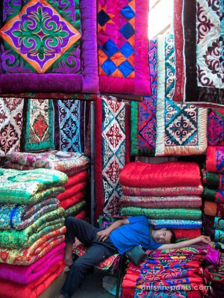 Киргизкие ковры