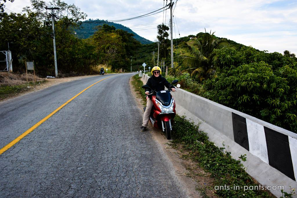 Northern Thailand by bike
