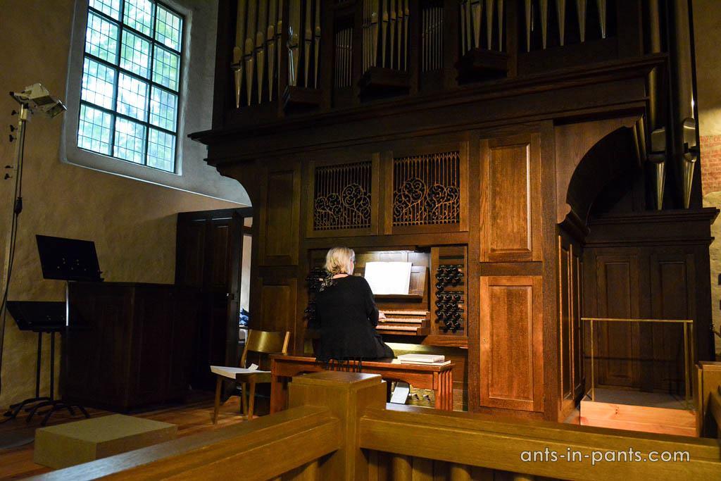 Organ in Naantali Church