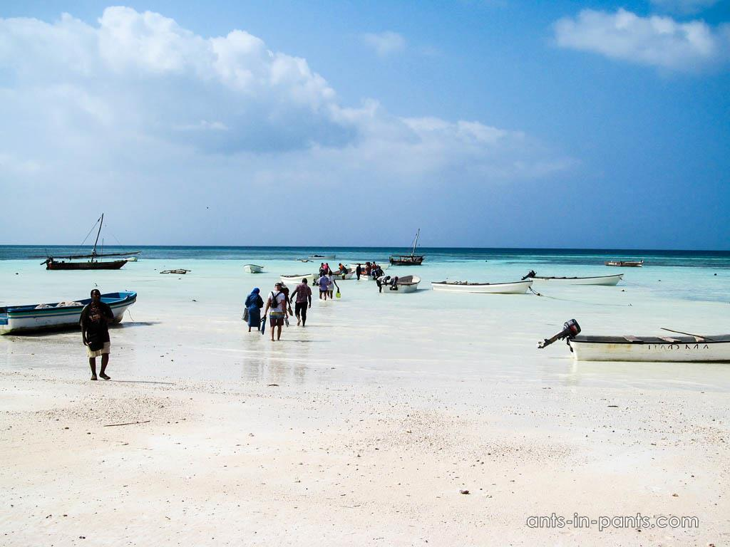 пляжи Занзибара