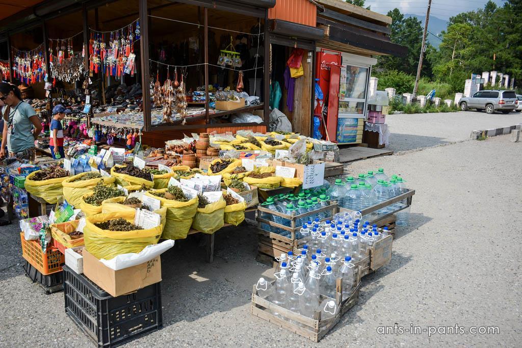 монгольский рынок