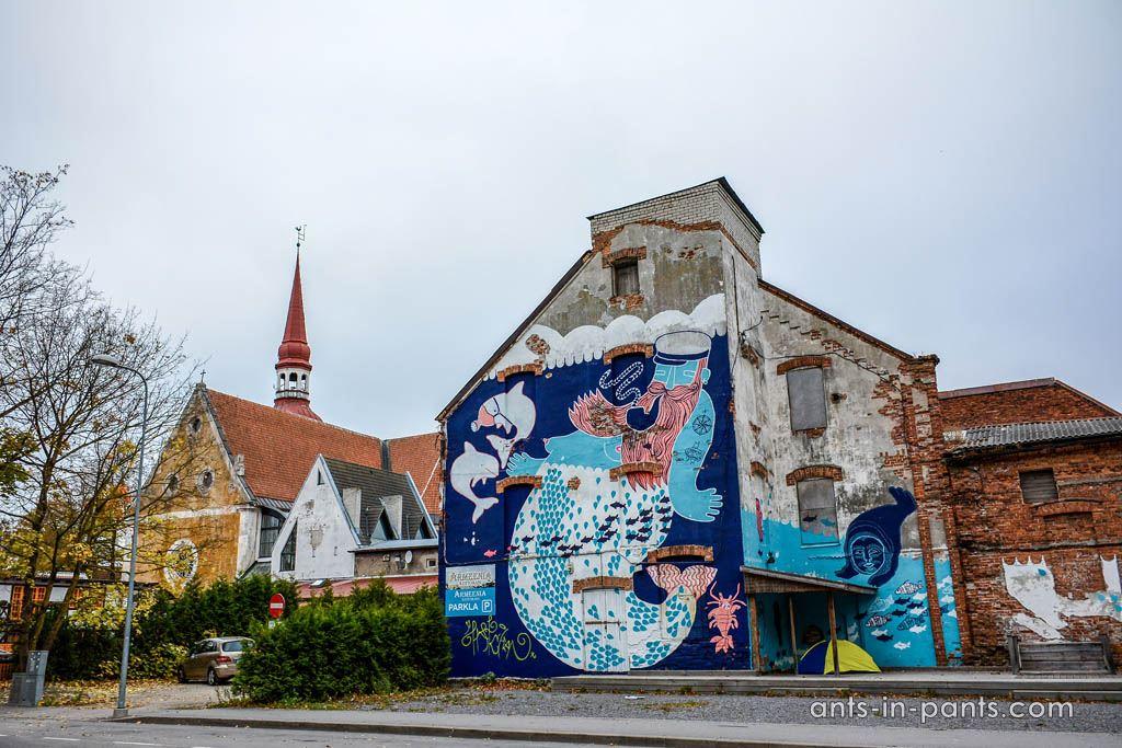 Пярну граффити