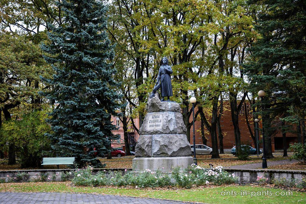 памятник Лидия Койдула
