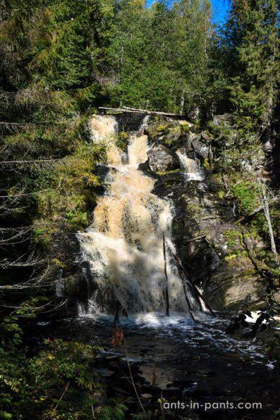 Yukankoski Waterfall