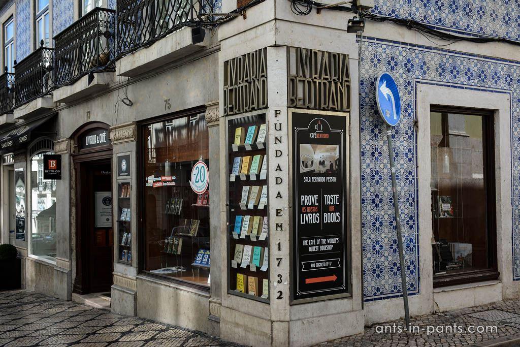 The bookshop Bertrand