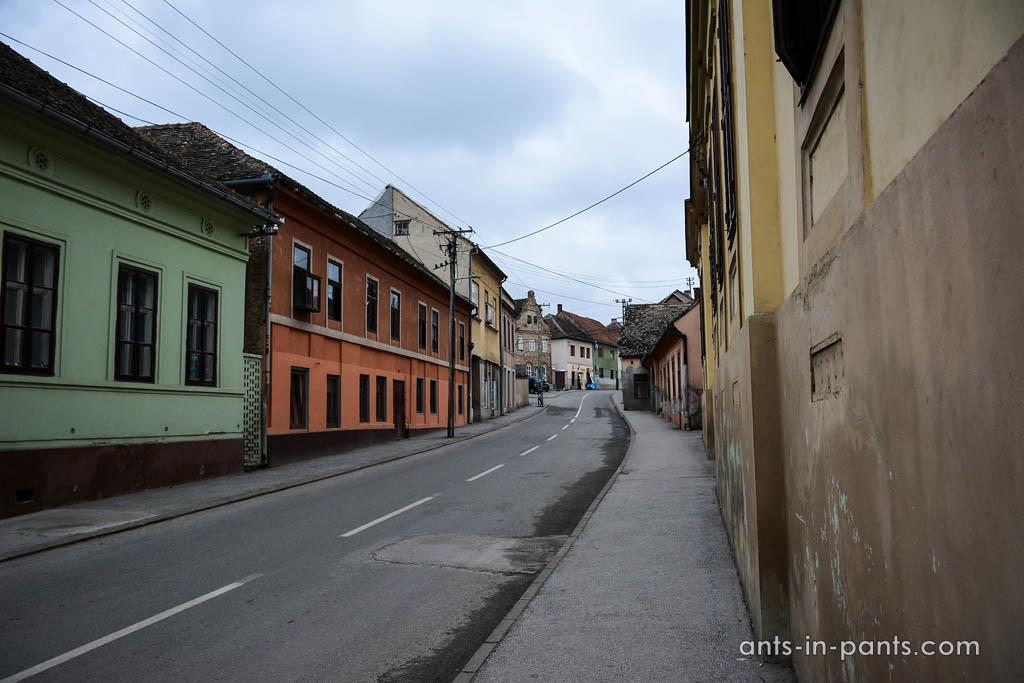 streets of Sremski Karlovci