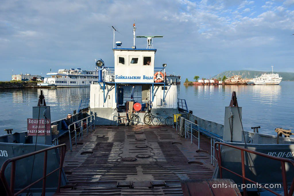 паром Порт Байкал – Листвянка