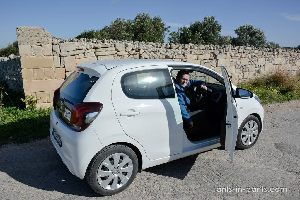 rent a car in Malta