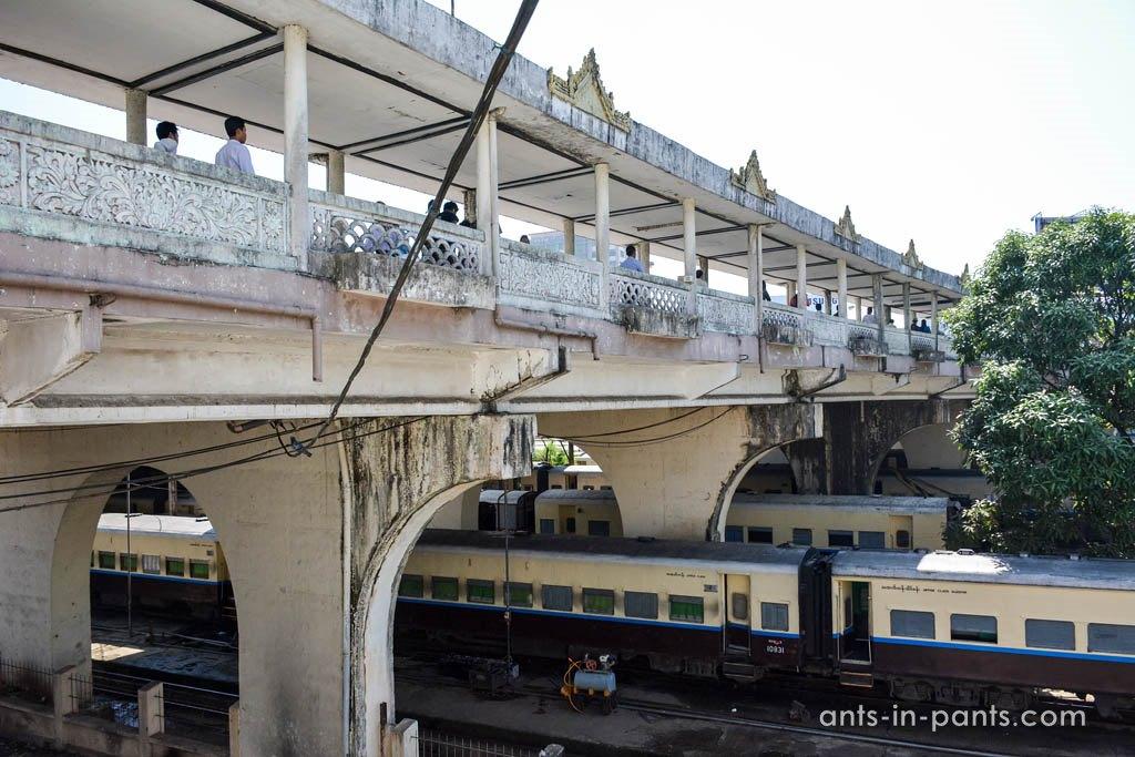 train station Yangon