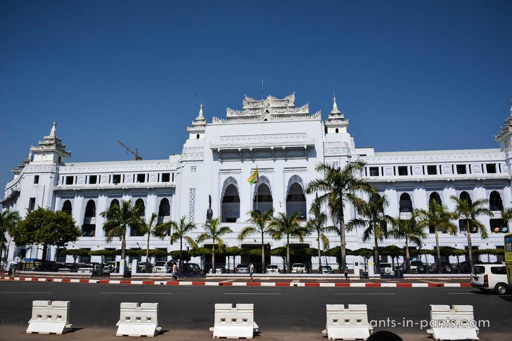 архетектура Янгона