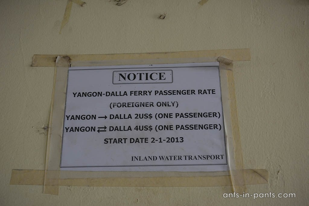 boat to Dalla village