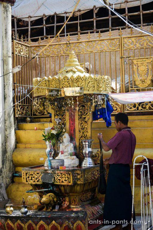 буддистский храм Shwedagon Paya