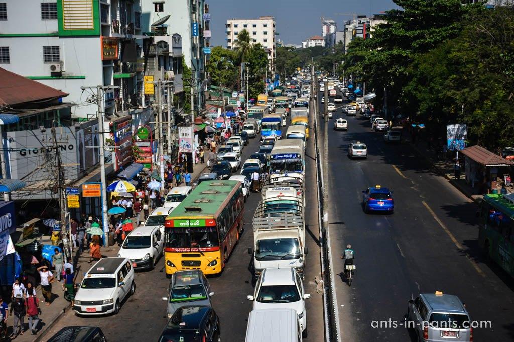 Транспорт в Бирме