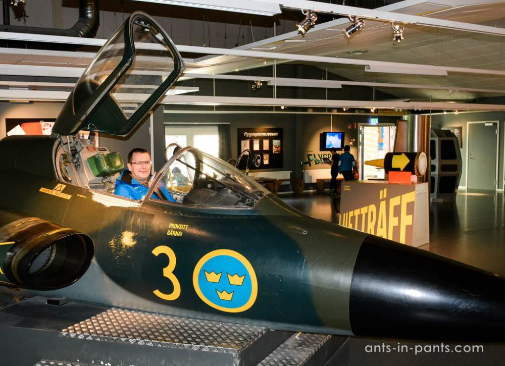 Swedish air force museum