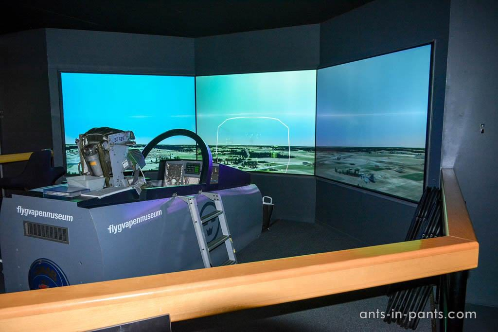 JAS 39 flight simulator