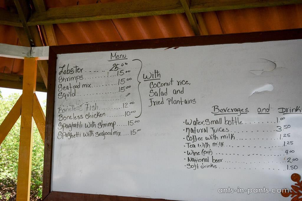 prices on Bocas del Toro
