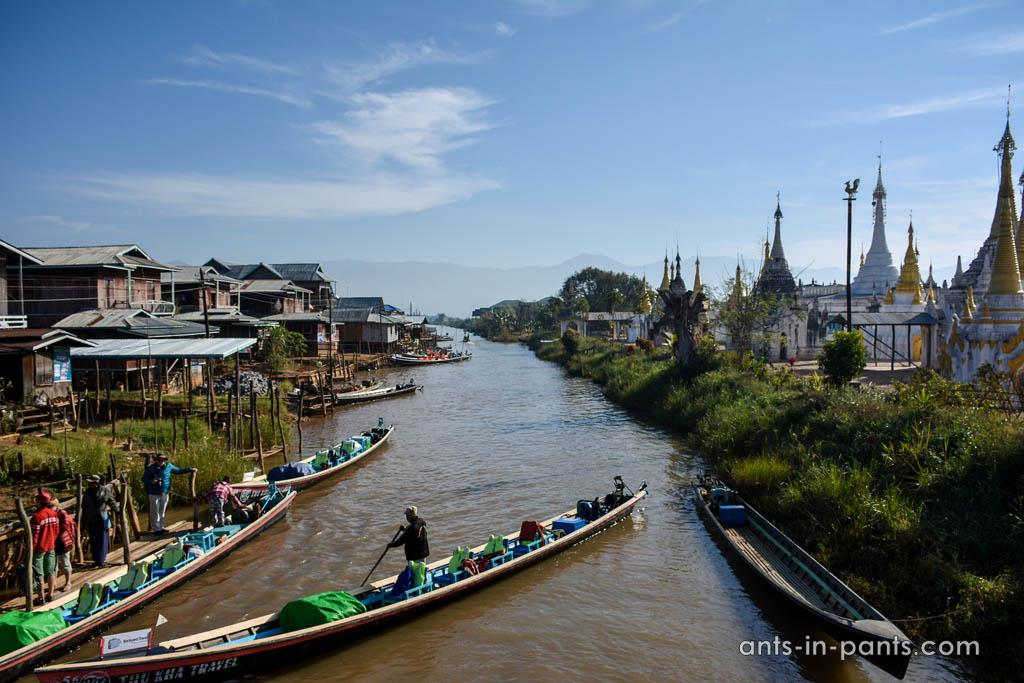 пагода Hpaung Daw U