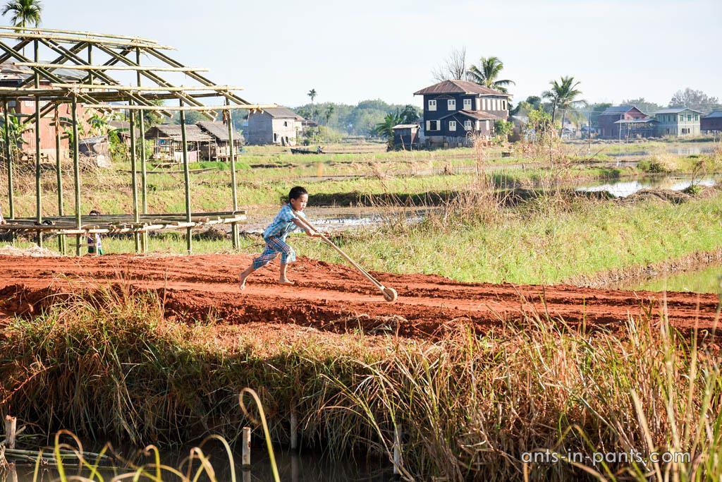 бирманская деревня