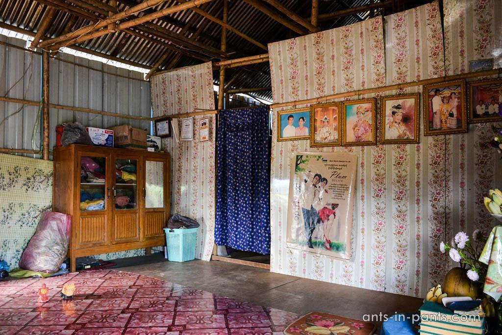 Burmese house