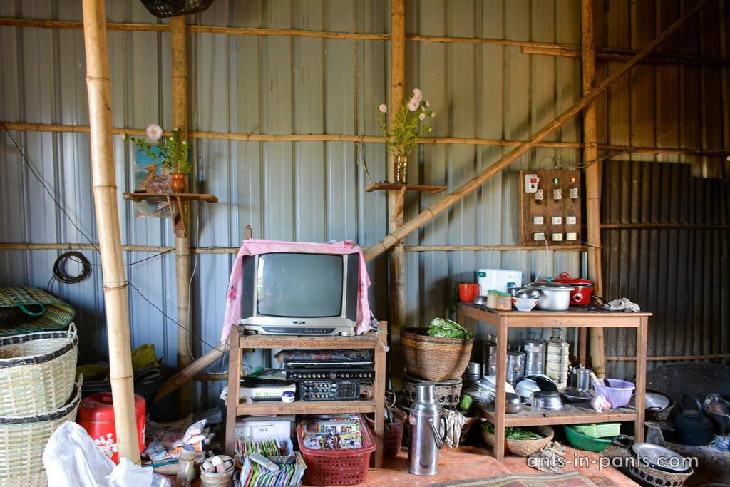 Burmese home