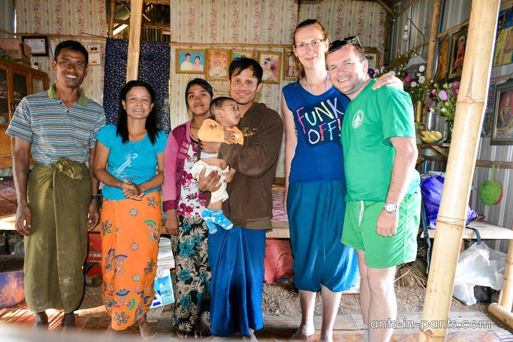 бирманская семья