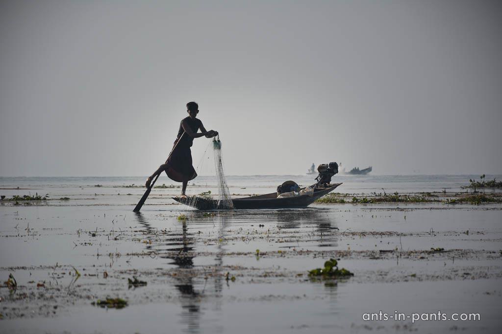 бирманские рыбаки