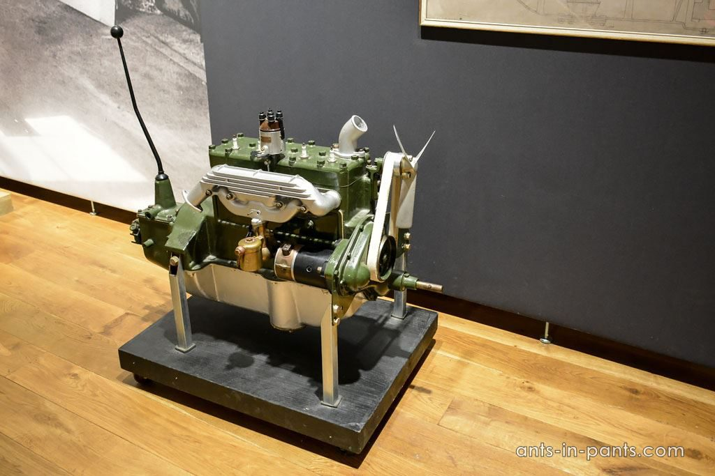 first volvo engine
