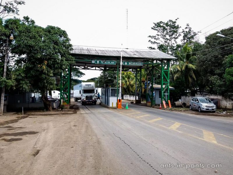 Nicaragua: Crossing the Border