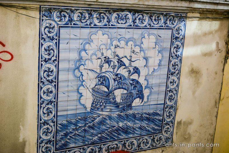 плитка в Лиссабоне