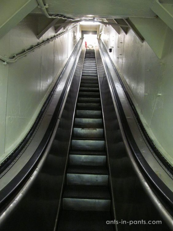 Escalator for pilots
