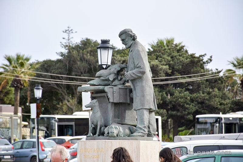 Anton Agius sculpture