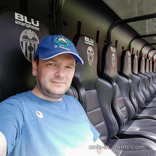 Mestalla substitution bench