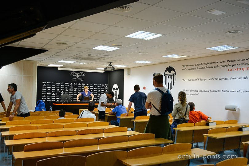 Mestalla press centre