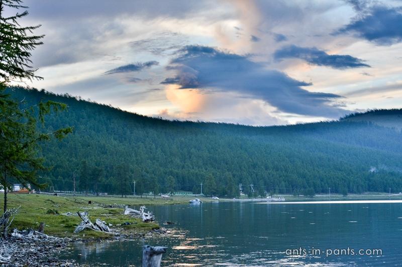 Khövsgöl lake