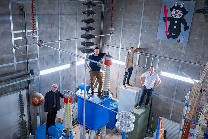 Taltech high-voltage laboratory