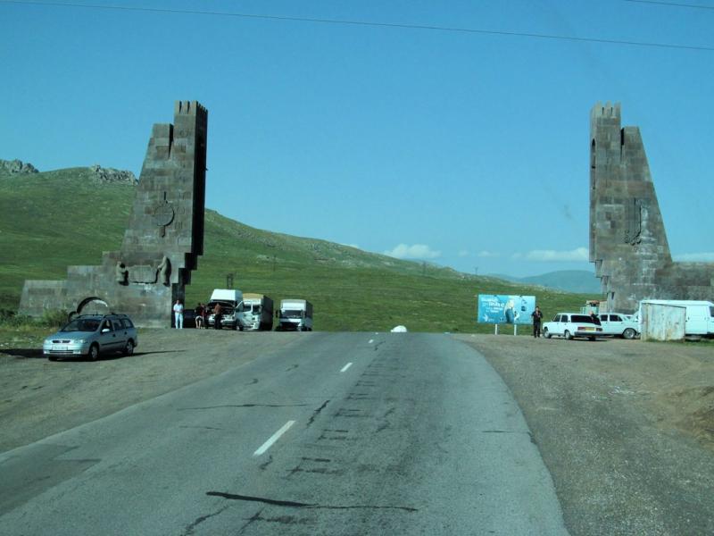 автостоп по Армении